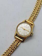 Belle montre de femme mecanique plaqué or Zenith 1960