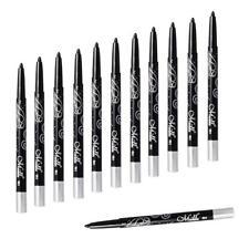 12pcs Imperméable Crayon Eyeliner Noir Feutre Stylo Eye Liner à Rotation