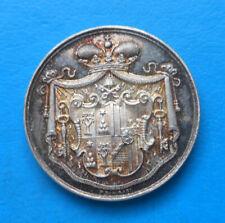 Vatican medaglia Maresciallo del conclave Principe Mario Chigi sede vacante 1903