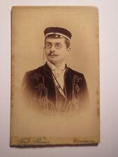 Argentina Strassburg 1895 Adolf Krencker  / Wingolf Wingolfbund - CDV Studentika