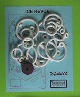 1965 Gottlieb Ice Revue pinball rubber ring kit