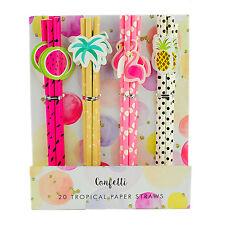 Novelty Paper Parasol Umbrella Drink  Decoration Crazy Cocktails Straws