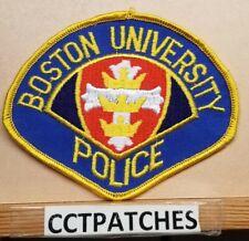 BOSTON UNIVERSITY, MASSACHUSETTS POLICE SHOULDER PATCH MA