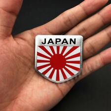 Japan Japanese Shield Flag Car Emblem Badge Motorcycle Gas Tank Stickers JDM