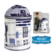 DISNEY STAR WARS R2-D2 POP UP STORAGE BIN FOR TOYS OR CLOTHS BRAND NEW