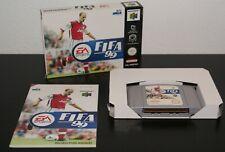 Nintendo 64 FIFA '99 PAL EUR MINT CIB Complete