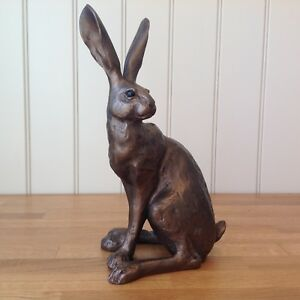 Frith Sculpture Large HOWARD HARE By Paul Jenkins in Cold Cast Bronze - S104