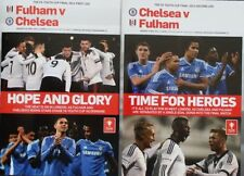 FA Cup Fulham Teams F-K Football Programmes