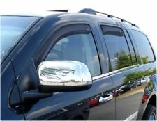 FOR DODGE DURANGO 194344 In Channel Window Vents Visors Shades Trim 2004-2009