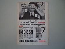 advertising Pubblicità 1965 CAFFETTIERA MOKA EXPRESS BIALETTI