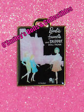 BARBIE, FRANCIE AND SKIPPER DOLL TRUNK (Black) PIN 2012 NBDC Convention PIN_New