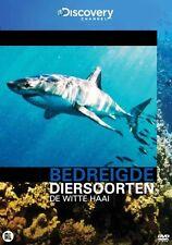 Bedreigde Diersoorten - De Witte Haai  ( Discovery Chanel ) Nieuwe  dvd in seal.