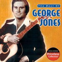 The Best of George Jones NEW CD