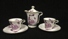 L Bernardaud And Co Limoges Vincennes Tea Set