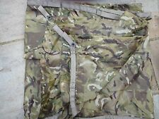 GENUINE BRITISH ARMY ISSUE MTP CAMO BASHA - WATERPROOF TARP SHELTER