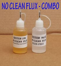 60 ml. COMBO  KESTER 961E  +  KESTER 186  Soldering Liquid Flux  NO CLEAN