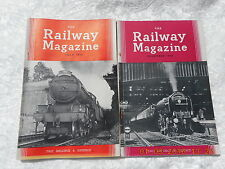 THE RAILWAY MAGAZINE   FEBRUARY, MARCH, APRIL, MAY & SEPTEMBER  1954 (5)
