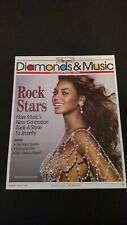 Beyonce With A Dazzling Diamond Outfit 2004 Rare Original Print Promo Poster Ad