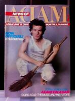 News of Adam Ant. Adam's own monthly Fan Magazine Number 2. 1982. London.