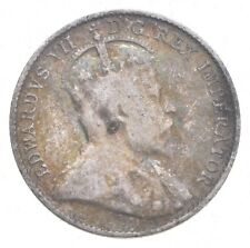 1907 Canada 5 Cents - Jacobs Coin Collection *672