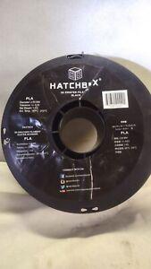 HATCHBOX 3D PLA-1KG 3.00 mm  -1 Kg Spool NEW FREE SHIPPING