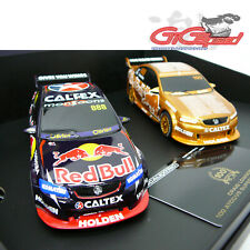 SCALEXTRIC CRAIG LOWNDES 100 ATCC WIN TWO SLOT CAR SET HOLDEN V8 LIMITED 3815