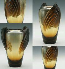 """LALIQUE """"Marrakech"""" Vintage Sculptural Artglass Vase"""