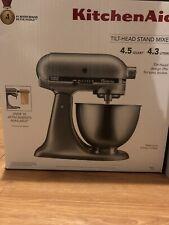 Brand New Sealed Kitchenaid Stand Mixer 4.5-qt Silver Classic