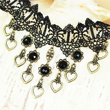 New 2014 Victorian Lace Vampire Vintage Choker Necklace handmade Chain for Party
