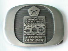 1987 Chrysler Le Baron Indy 500 Pace Car Belt Buckle Limited Edition #456 of 500