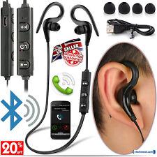 49854752c68 Sweatproof Sports Gym Wireless Bluetooth Earphones Headphones for iPhone  Samsung