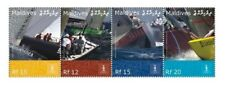 Maldives - America's Cup Stamp - Strip of 4 Mnh