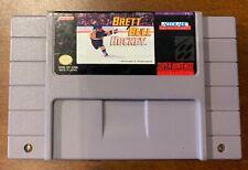 Brett Hull Hockey Super Nintendo SNES cart only