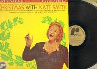 Christmas With Kate Smith Rondo RX1 Stereo Vinyl LP Record