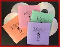 VINTAGE DAI VERNON, MAGIC AUDIO CD LECTURES. Set of 4. 1963 & 1964. Magic Castle
