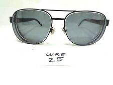 Vtg 1980s BURBERRY Aviator Sun or Eyeglass B3083 1001/SU Black Used (WRE-25)