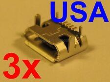 3x Lot of Micro USB Charging Port Sync for Hisense Sero 7 Pro M470BSA Tablet USA
