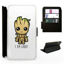 I am Groot Baby Tree - Flip Phone Case Cover - Fits Iphone / Samsung