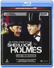 THE MEMOIRS OF SHERLOCK HOLMES **Blu Ray B** Jeremy Brett, Edward Hardwicke