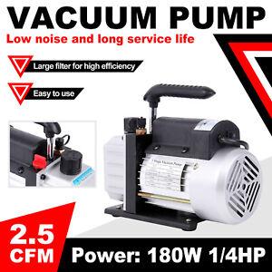 1/4HP Bomba de Vacio para Aire Acondicionado/Refrigeracion 2.5CFM Una Etapas 5Pa