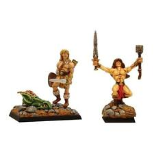 FENRYLL Dragon Slayer bárbaros X 2 figuras
