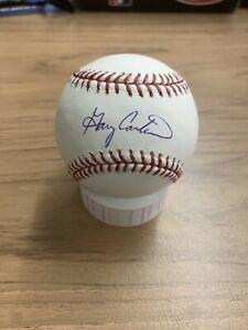 Gary Carter Autographed Rawling Major League Baseball New York Mets Tristar HOF