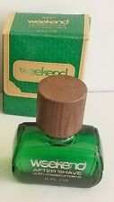 Vintage NEW in BOX Avon WEEKEND  AFTER SHAVE with MOISTURIZERS 4 oz  NOS