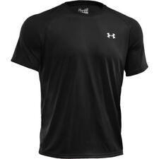 Hauts et maillots de fitness noir Under armour pour homme