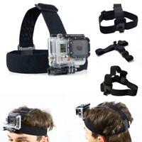 Elastic Adjustable Head Harness Belt Strap Band Mount for Gopro HD Hero