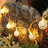 Moroccan 20 LED Filigree Metal  String Fairy Light for Christmas Fairy Lamp New