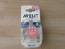 Philips Avent Classic 2Stück Baby Sauger mit variablem Nahrungsfluss 3m+ NEU OVP