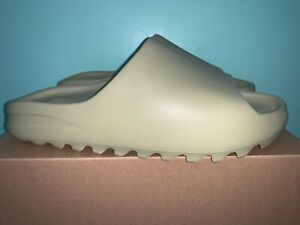 2021 Adidas Yeezy Slide Resin Green Mens Size 13 GZ5552
