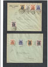 Polen, Poczta Polska 1919, auf Briefen, echt gelaufen, gestempelt o, zur Auswahl