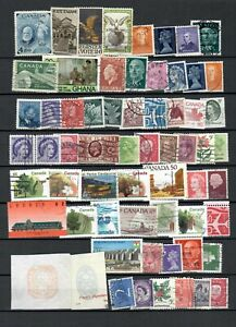 WORLD CANADA UK  COLLECTION  USED  STAMPS  LOT (WW 175)